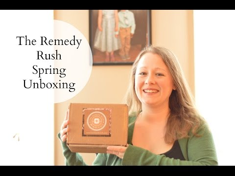 The Remedy Rush Spring Subscription Box – Unboxing