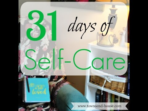 31 Days of Self-Care – Introduction