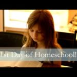 Our First Week of Homeschool and a Vlog