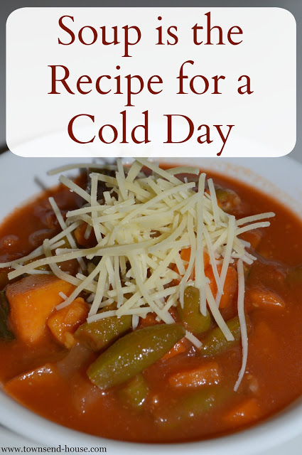 Soup is the Recipe for a Cold Day