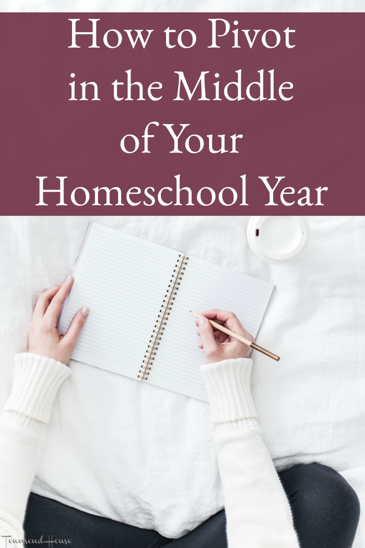 How to make a Homeschool Pivot in the Middle of the Year