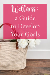 Wellness a Guide to Develop Goals
