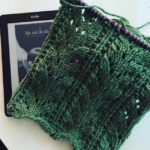 31 Days – knitting and reading