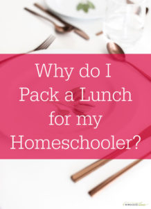 Pack a Lunch for Your Homeschooler