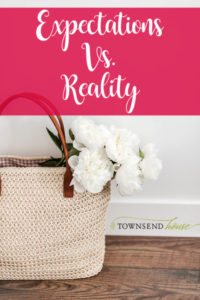 Homemaking Expectations vs. Reality