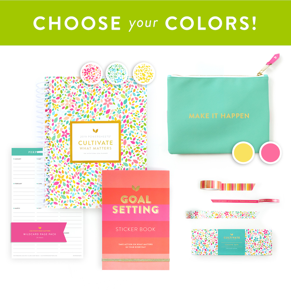 Cultivate What Matters #PowerSheets Bundle