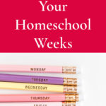 Planning Your Homeschool Weeks – 31 Days