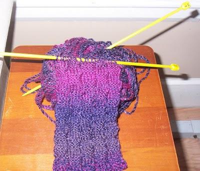 basketweave scarf