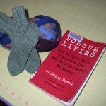 socks and reading