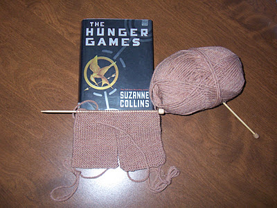 The Hunger Games – and some knitting