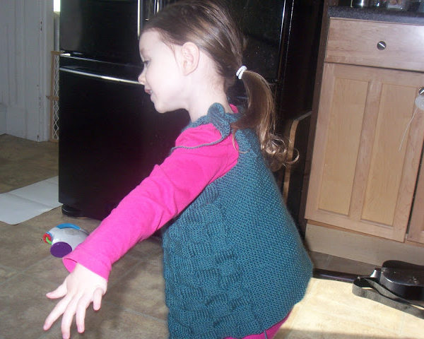 Emma's sweater – done!
