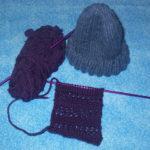 mother's helper yarn along