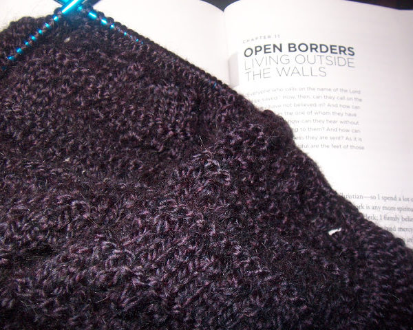 if you thought the shawl would be done…