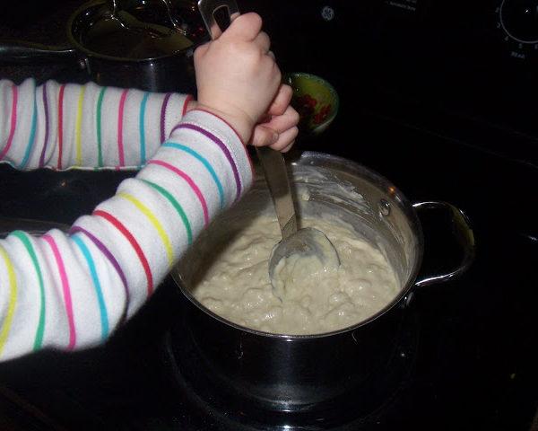 Making Playdough & a Recipe
