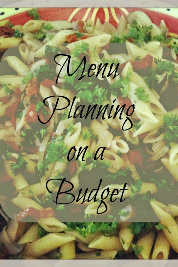 Menu Planning on a Budget – Making a List of Easy Meals