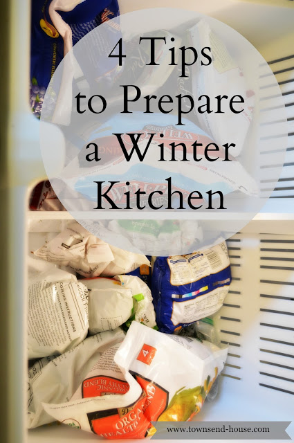 4 Tips to Prepare your Kitchen for Winter
