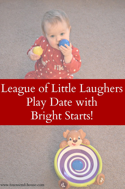 League of Little Laughers Play Date with Bright Starts!