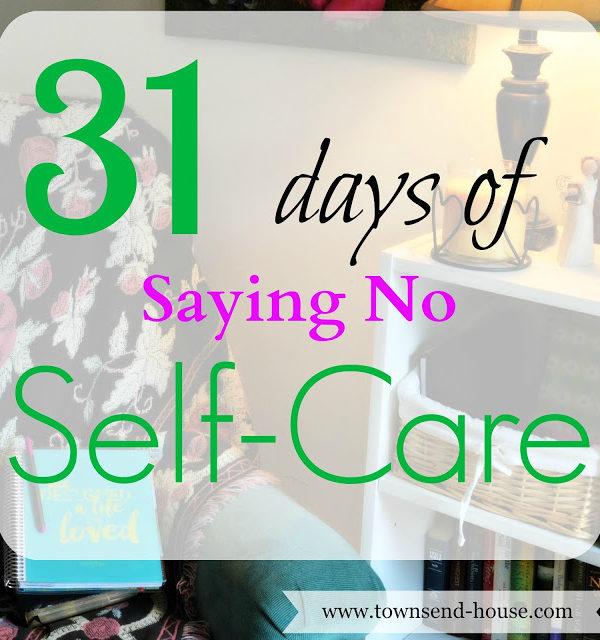 31 Days – Saying No
