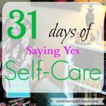 31 Days – Saying Yes