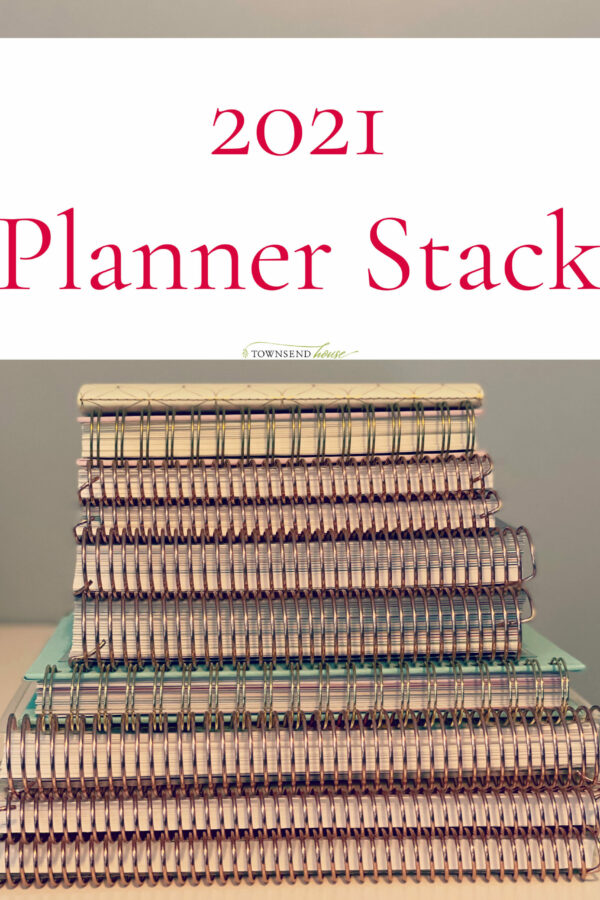 2021 Planner Stack