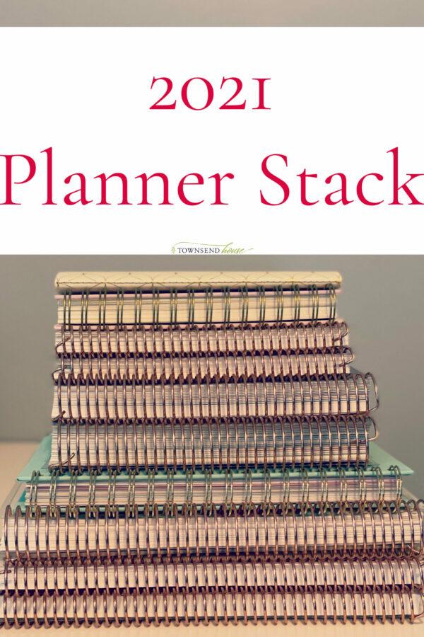 2021 Planner Stack