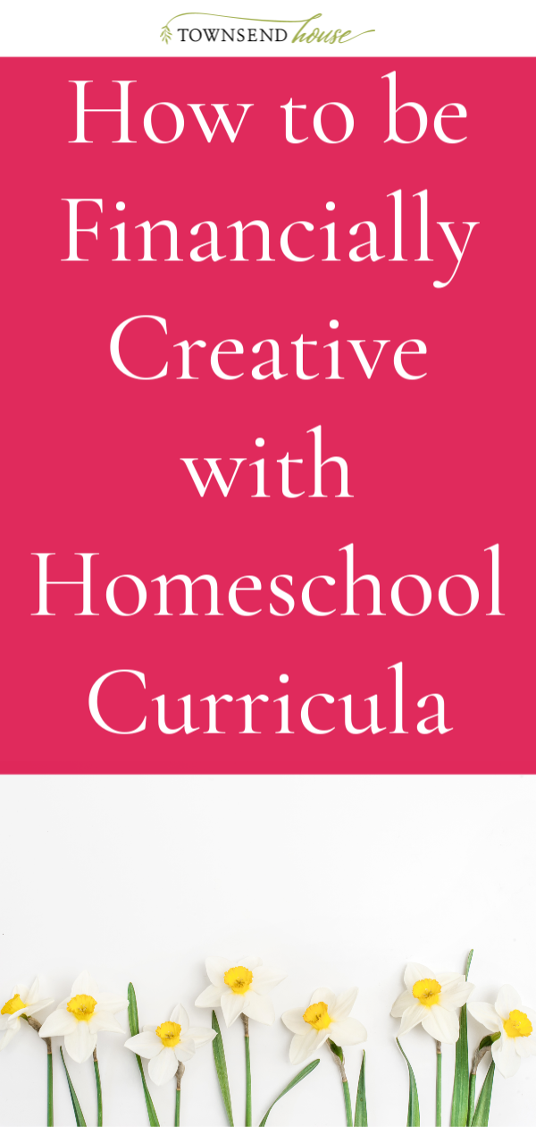 How to be Financially Creative with Homeschool Curricula