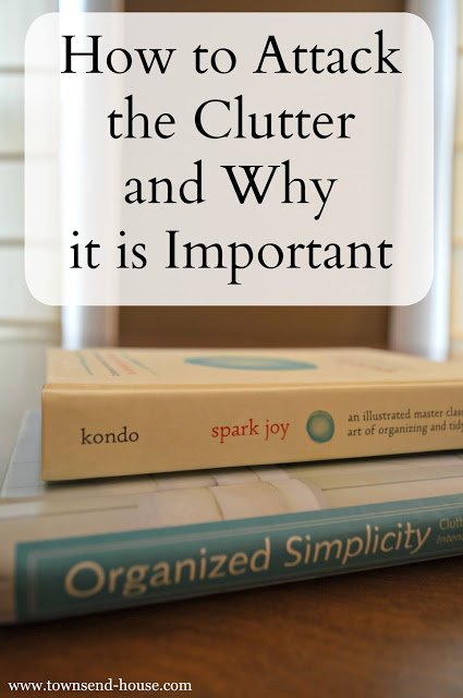 How to Attack Clutter and Why it is Important