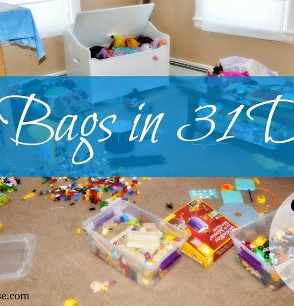 31 Bags in 31 Days Update