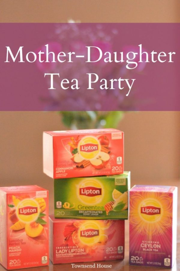 A Mother Daughter Tea Party