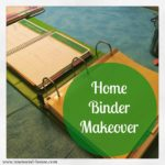 Home Binder Makeover