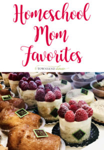 Homeschool Mom Favorites - March