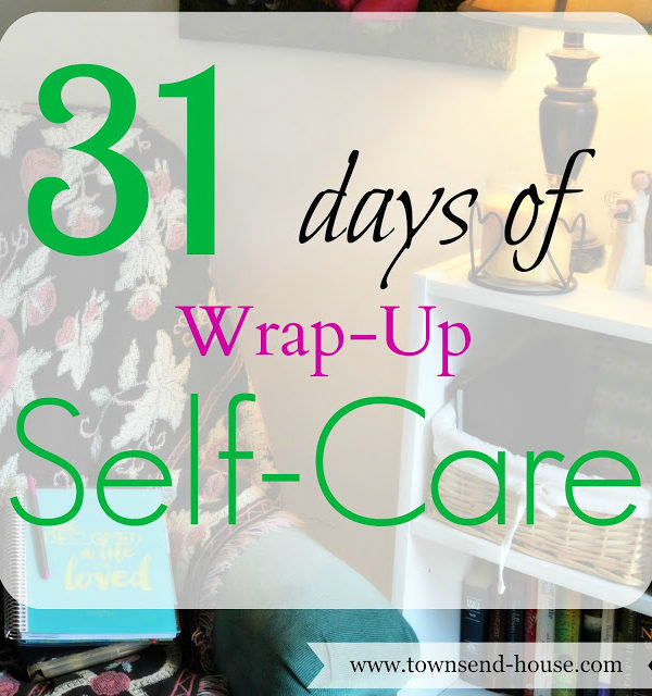 31 Days of Self-Care – Wrap Up!