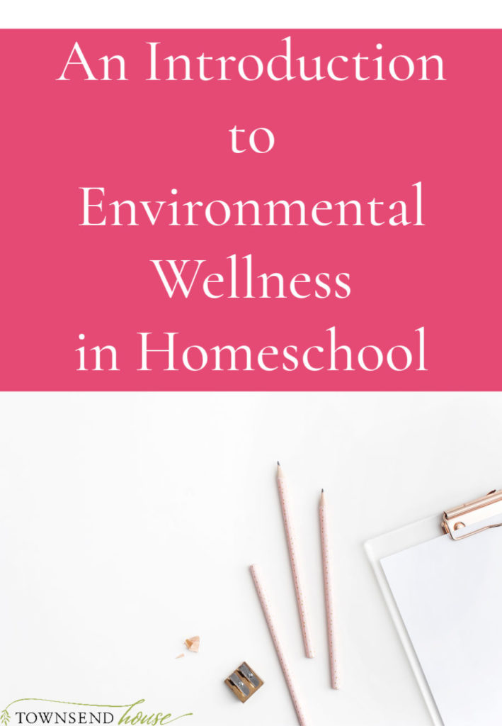 Environmental Wellness in Homeschool