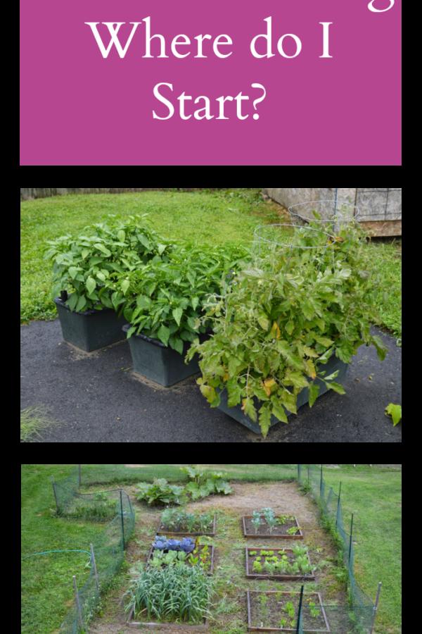 Garden Planning – Where do I Start?