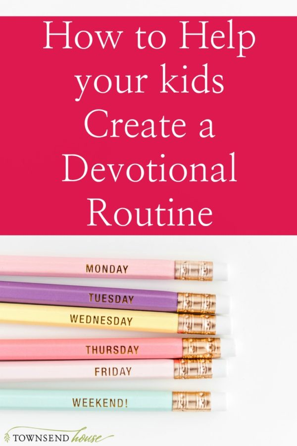 How to Help your Kids Create a Devotional R