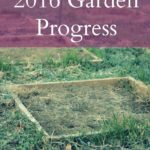 2016 Garden Progress