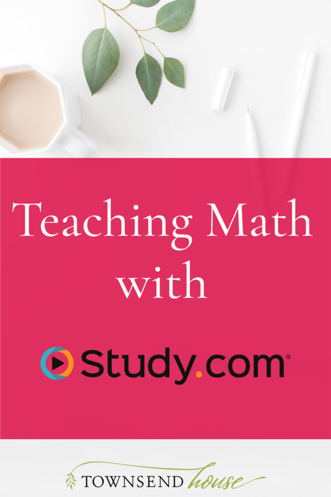 Teaching Math with Study.com