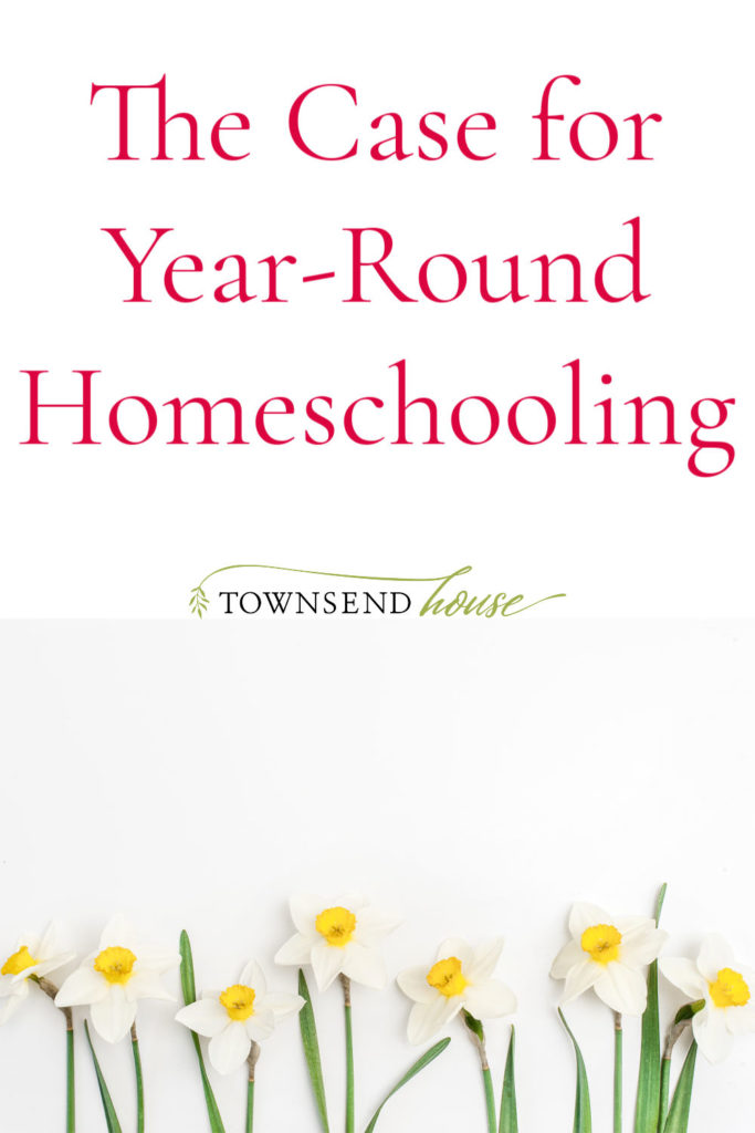 The Case for Year-Round Homeschooling