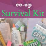 A Homeschool Co-op Survival Kit