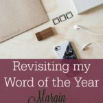 Margin – Revisiting my Word of the Year