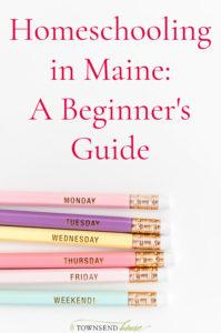 Homeschooling in Maine