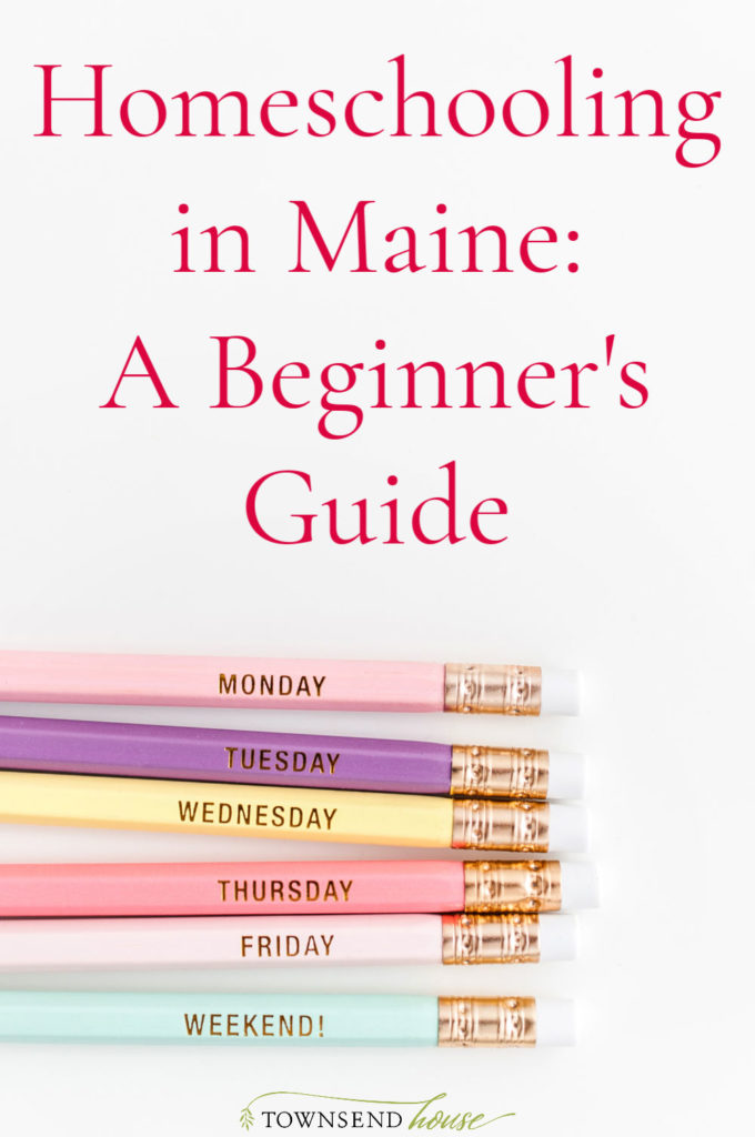 Homeschooling in Maine A Beginner's Guide