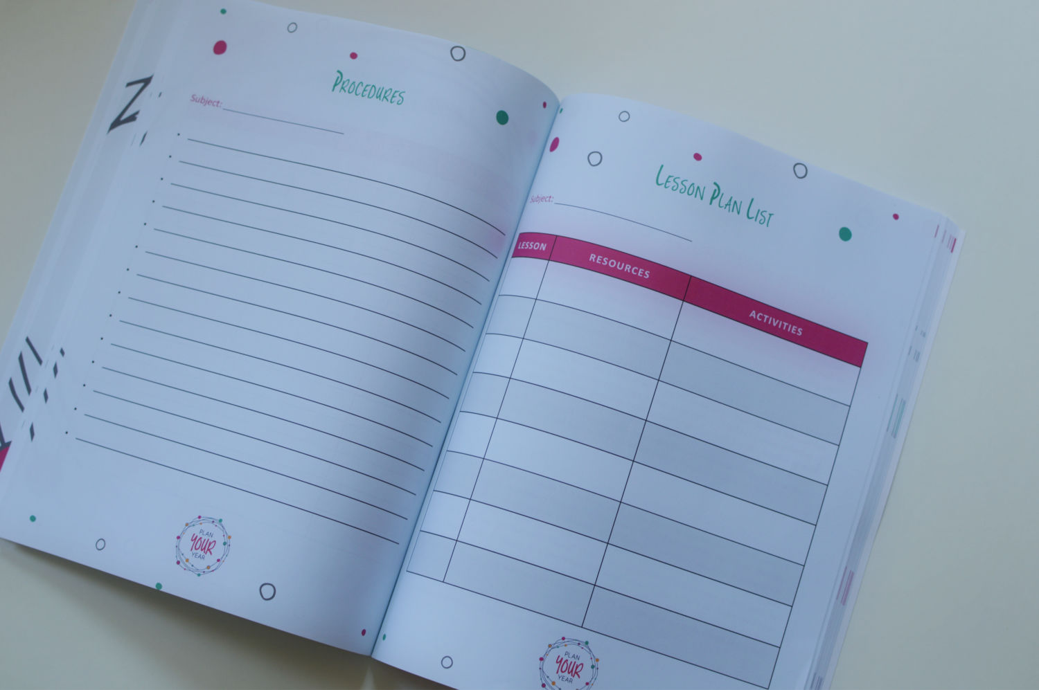 Plan Your Year by Pam Barnhill Review & Giveaway