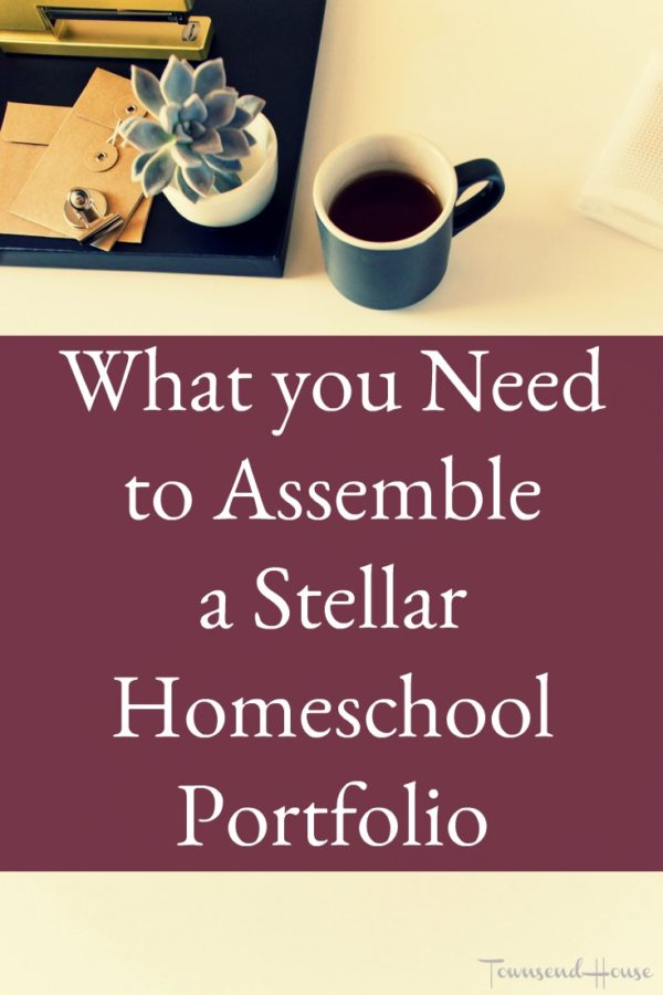 What you Need to Assemble a Stellar Homeschool Portfolio