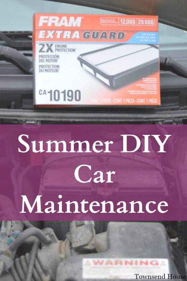Summer DIY Car Maintenance