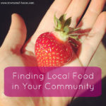 Finding Local Food in Your Community