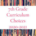 7th-Grade Curriculum Choices: 2020-2021
