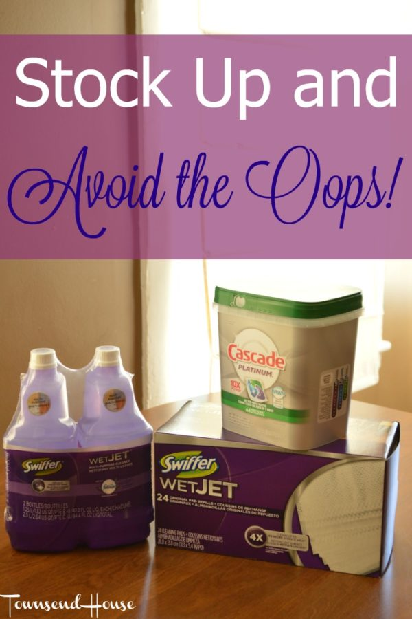 Stock up for the Summer and Avoid the Oops!