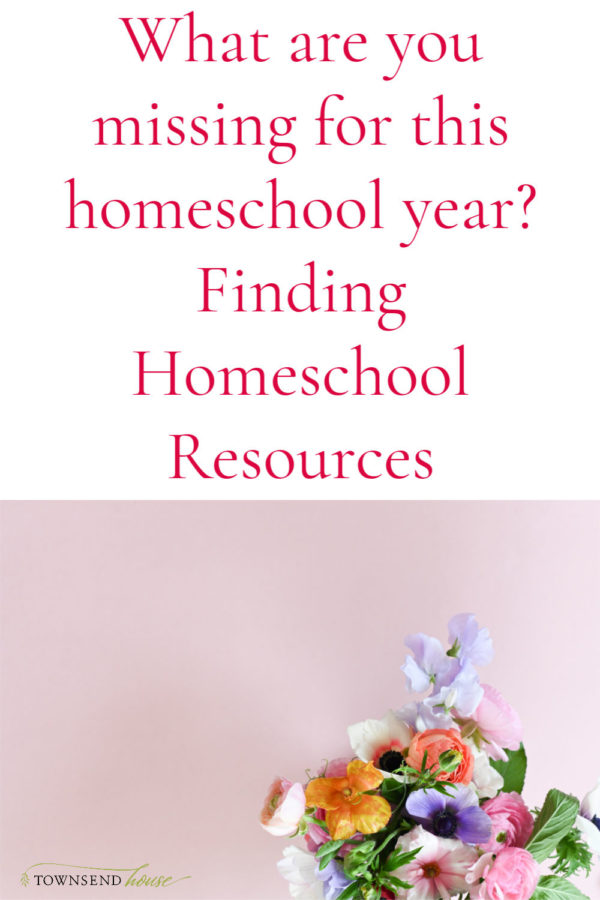 Missing Homeschool Curriculum