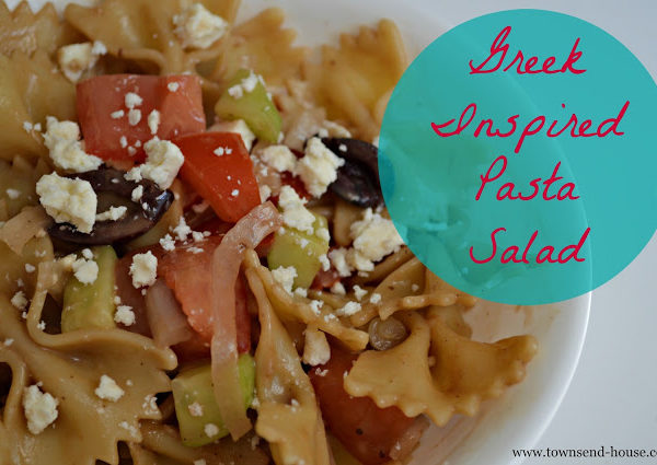 Greek Inspired Pasta Salad